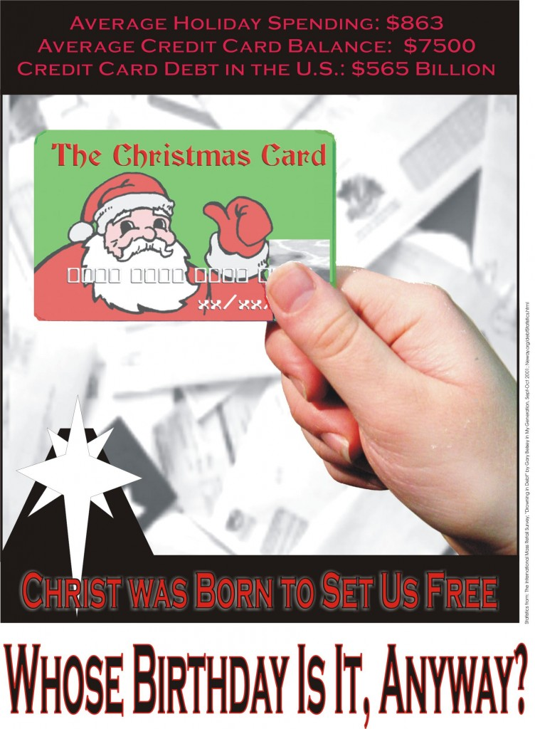 953-Santa Credit Card2
